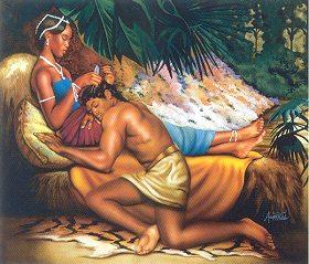 Samson And Delilah By Alan Hicks