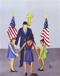 The Family That Prays Together by Annie Lee