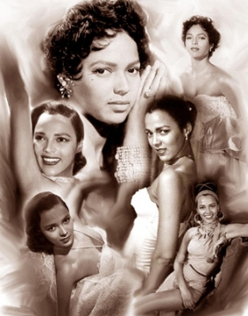 Dorothy Dandridge by Gregory Wishum
