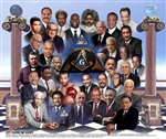 Let There Be Light - Masonic Print by Wishum