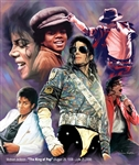 Michael Jackson - The King of Pop by Gregory Wishum