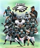 Philadelphia Eagles by Gregory Wishum