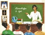 Knowledge is Light by Johnny Myers