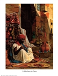 A Merchant in Cairo by Jean Leconte du Nou