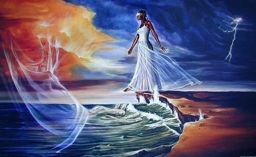 step out on faith woman