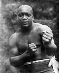 Boxer Jack Johnson, circa 1909