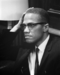 Malcolm X, Washington DC, 1964