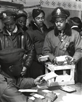 WWII African American Pilots in Italy, March, 1945