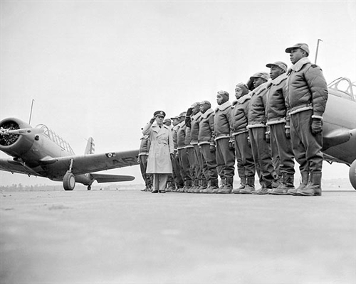 Tuskegee Airmen First Class Of Cadets 1941