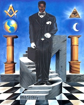 The Ultimate Climb Masonic Print