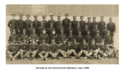 African American Officers Of The 24th Infantry Regiment