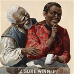 A Sure Winner Tobacco Advertising circa 1895