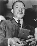 Martin Luther King, Jr with Medallion