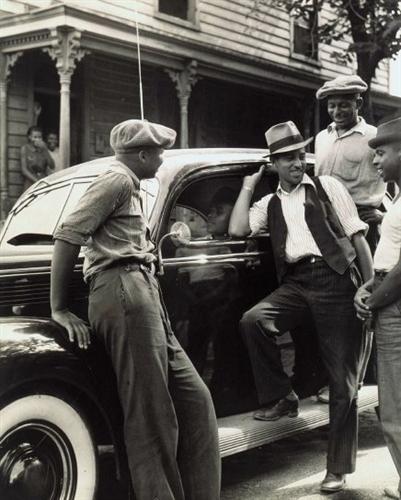 New Car, Richmond, VA 1938
