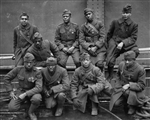 Black Soldiers of the 369th (15th N.Y.) who won the Croix de Guerre for gallantry in action, 1919