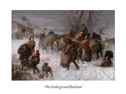 The Underground Railroad by Charles Webber