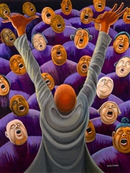 Lift Every Voice by Ernie Barnes
