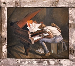 The Tunesmith by Ernie Barnes