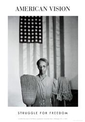 American Gothic, 1963 by Gordon Parks