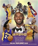 Black Mamba (Kobe Bryant) by Gregory Wishum