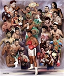 Boxing Greats: Champions by Gregory Wishum
