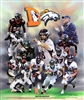 Denver Broncos by Gregory Wishum