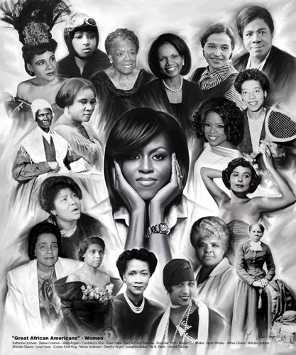 great african americans women by gregory wishum