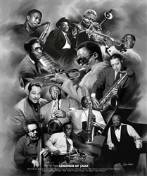 Legends of Jazz by Gregory Wishum