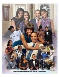 Thank You Mr. President and First Lady for 8 Great Years
