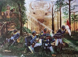 Buffalo Soldiers by Hermon Woodall