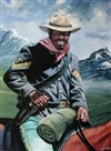 Buffalo Soldier on Patrol by John Jones
