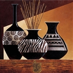 Patterns in Ebony I by Keith Mallett