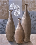 Silver Orchids II by Keith Mallett