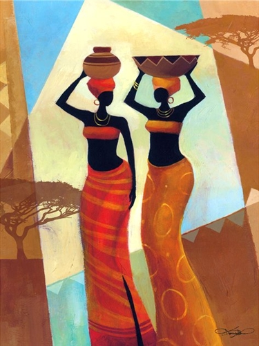 Sisters By Keith Mallett