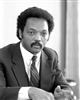This is a photographic print of Black Civil Rights leader Jesse Jackson