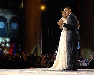President And First Lady Dance At 56th Inaugural