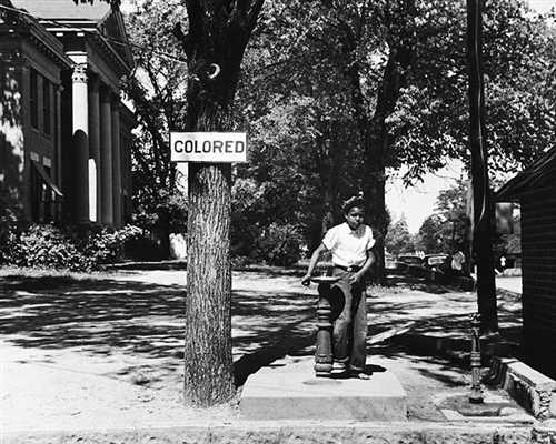 Segregated Water Fountain Halifax North Carolina 1938