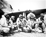 Tuskegee Airmen, 332nd Fighter Group, Ramitelli, Italy, WWII