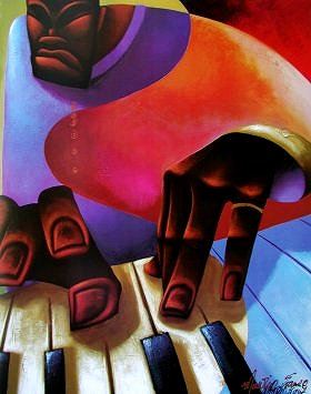 Mo' Piano by Maurice Evans