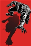 Black Panther: The Most Dangerous Man Alive No.523.1 Cover: Black Panther Crawling by Patrick Zircher