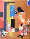 Falling Star by Romare Bearden