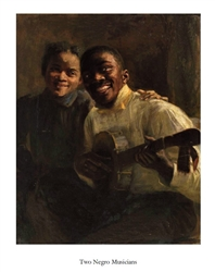 Two Negro Musicians by Robert MacCameron