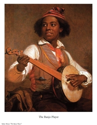 The Banjo Player by Sidney Mount