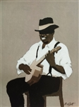 Banjo Player by William Buffett