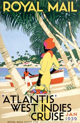 Atlantis West Indies Cruise, 1939 by Shoesmith