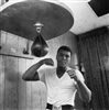 Muhammad Ali Training on Speed Bag