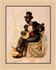 Caricature Banjo Player