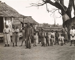 African American Family at Gees Bend, 1937