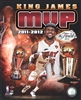 NBA: LeBron James 2012 NBA MVP Portrait Plus