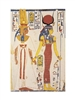 Nefertiti and Isis Egyptian Theban Tomb Mural
